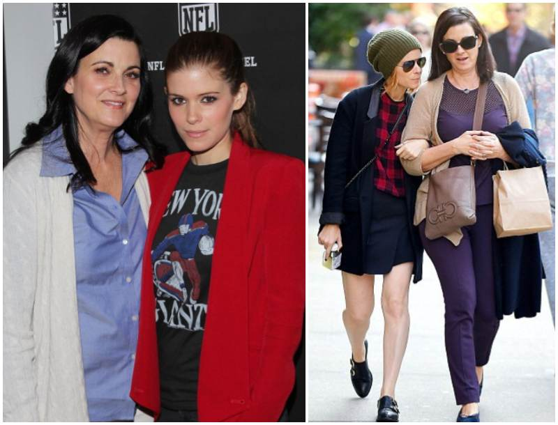 Kate Mara's family - mother Kathleen McNulty Rooney
