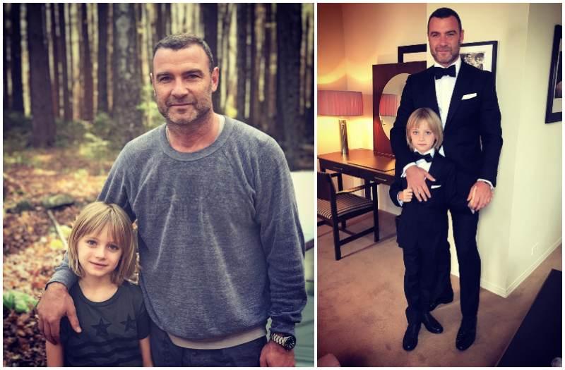 Liev Schreiber's children - son Samuel Kai Schreiber