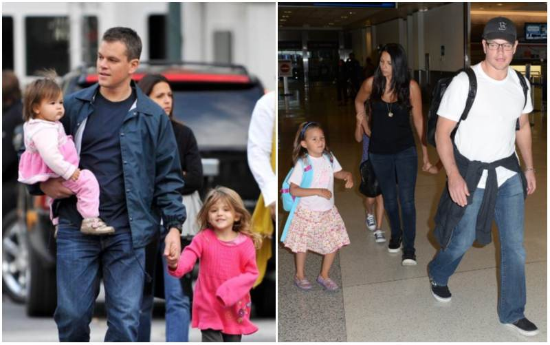Matt Damon's children - daughter Gia Zavala Damon
