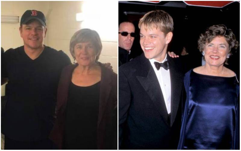 Matt Damon's family - mother Nancy Carlsson-Paige
