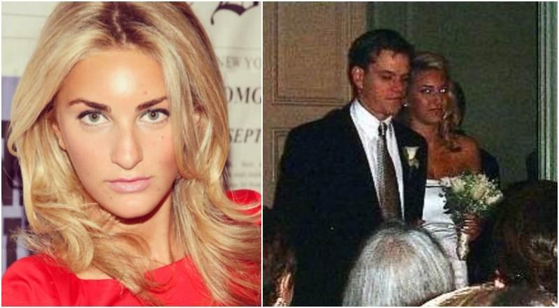 Matt Damon's siblings - step-sister Sarah Bradford Wetherell