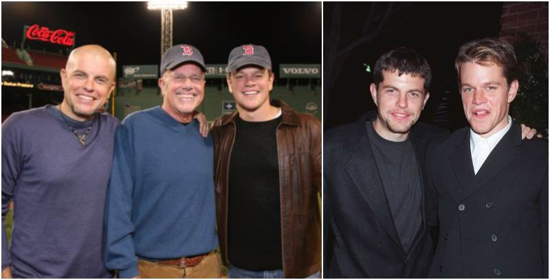Matt Damon's siblings - brother Kyle Damon