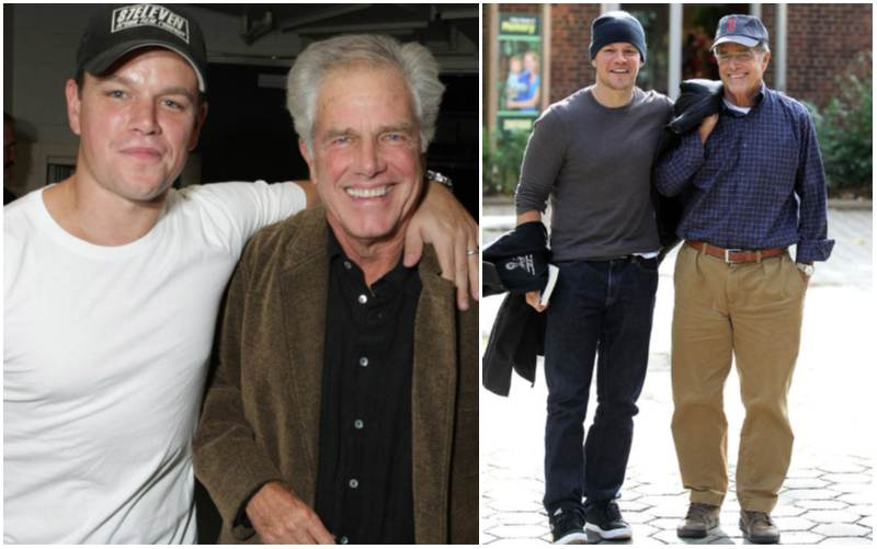 Matt Damon's family - father Kent Telfer Damon