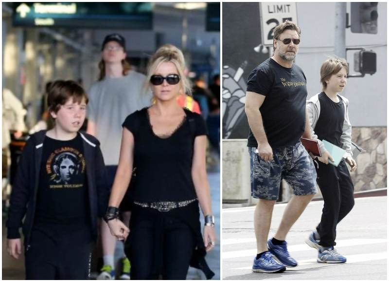 Russell Crowe's children - son Charles Spencer Crowe