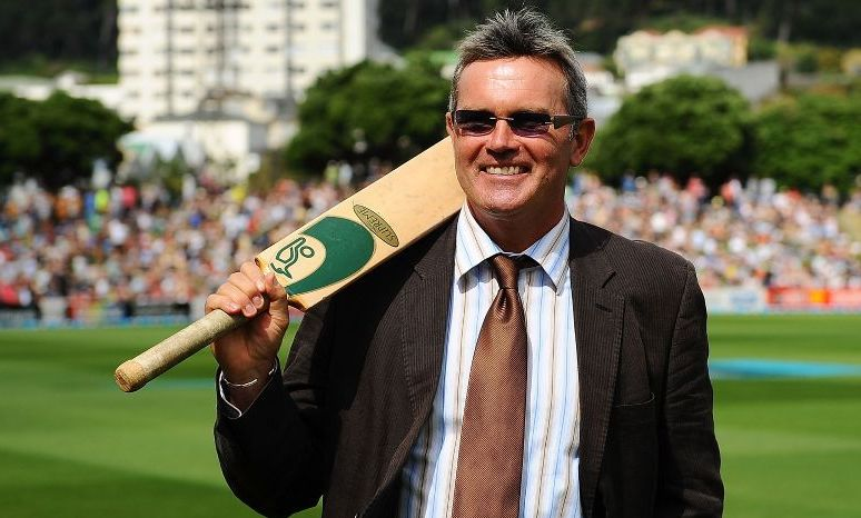 Russell Crowe's family - cousin Martin Crowe