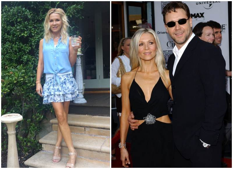 Russell Crowe's family - ex-wife Danielle Spencer