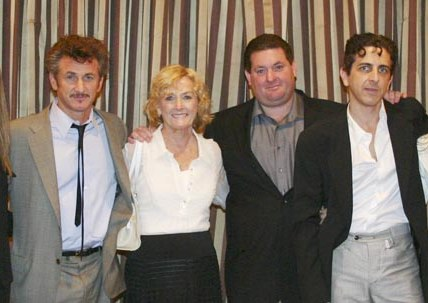 Sean Penn's family - mother Eileen Penn and brothers