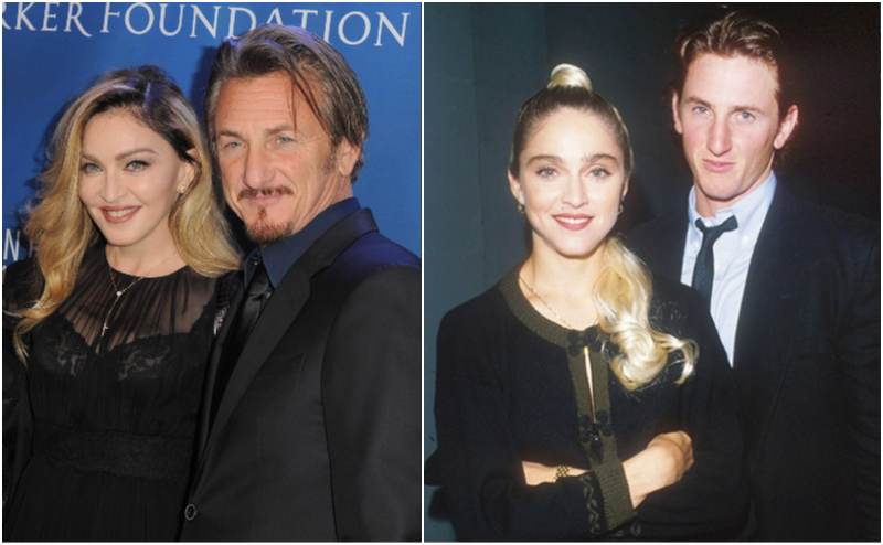 Sean Penn's family - ex-wife Madonna