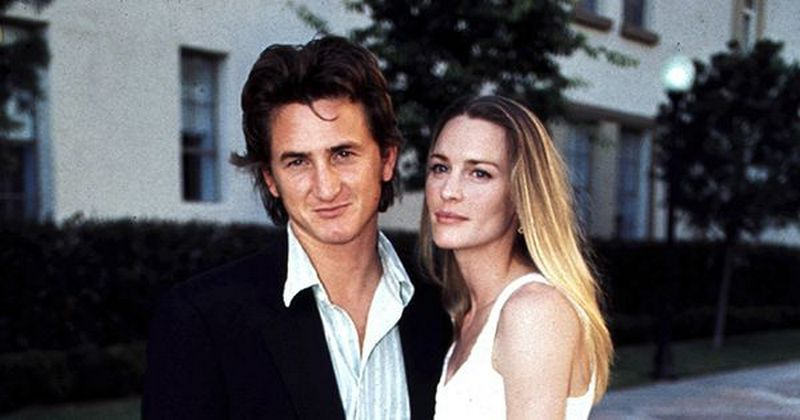 Sean Penn's family - ex-wife Robin Wright