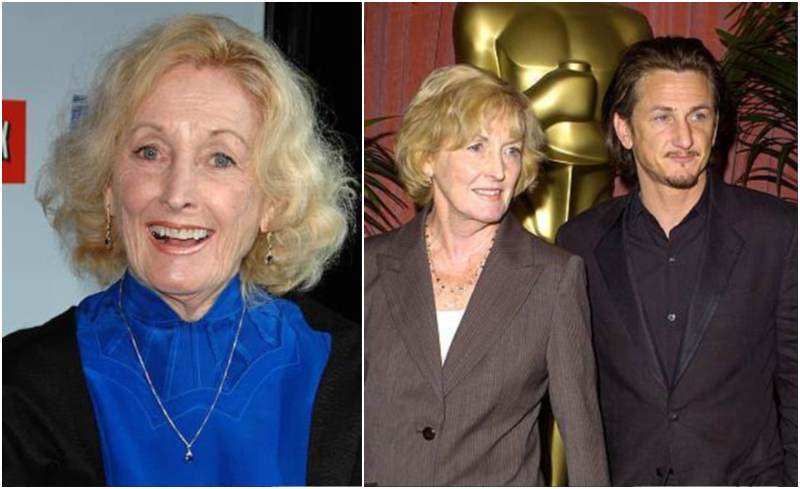 Sean Penn's family - mother Eileen Ryan Penn