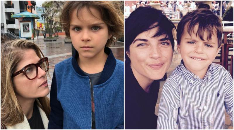 Selma Blair's children - son Arthur Saint Bleick