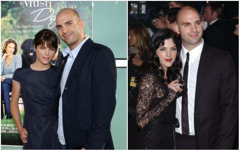 Ahmet Zappa's family - ex-wife Selma Blair