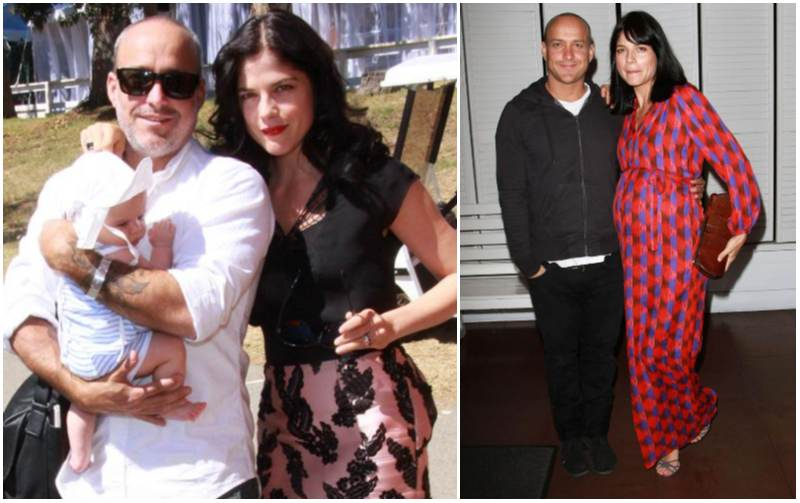 Selma Blair's family - ex-partner Jason Bleick