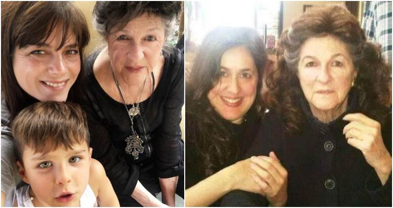 Selma Blair's family - mother Molly Ann Beitner (née Cooke)