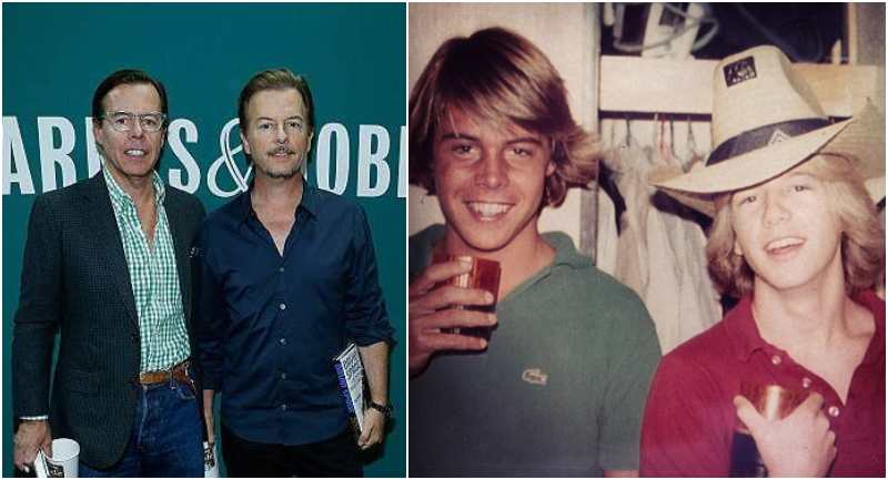 David Spade's siblings - brother Andy Spade