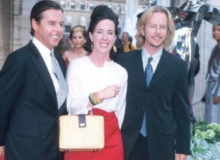 David Spade's family - brother Andy and sister-in-law Kate Spade