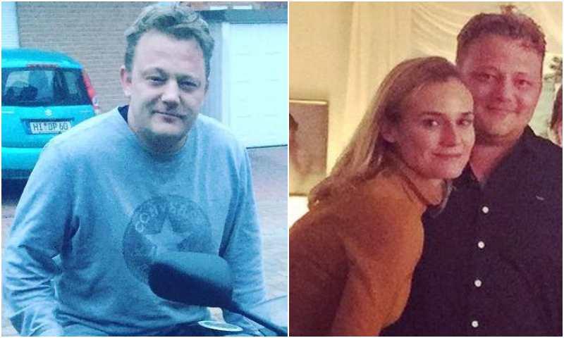 Diane Kruger's siblings - brother Stefan Heidkruger