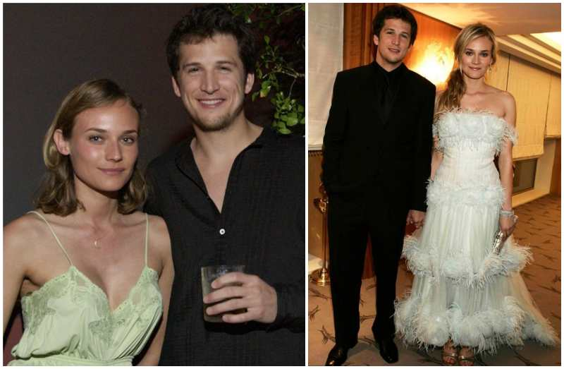 Diane Kruger's family - ex-husband Guillaume Canet