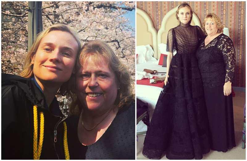 Diane Kruger's family - mother Maria-Theresa Heidkruger