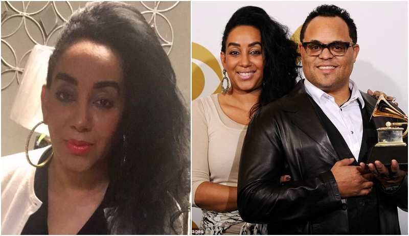 Israel Houghton's family - ex-wife Meleasa Houghton