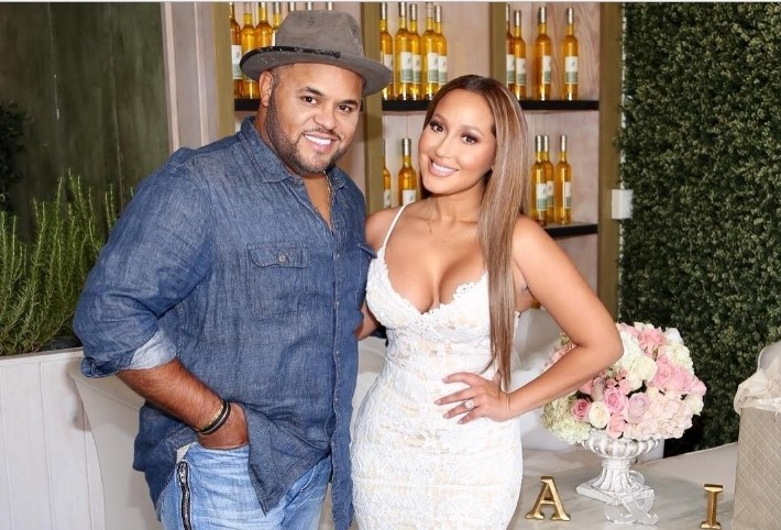 Israel Houghton's family - wife Adrienne Bailon
