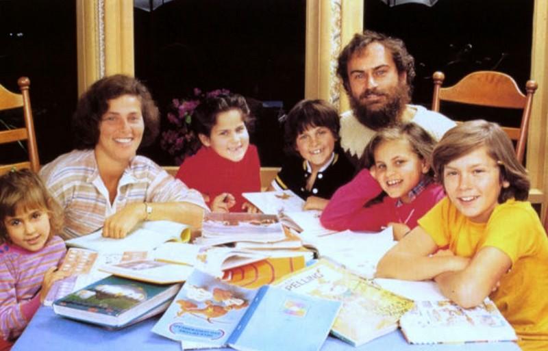 Joaquin Phoenix's family - father John Lee Bottom