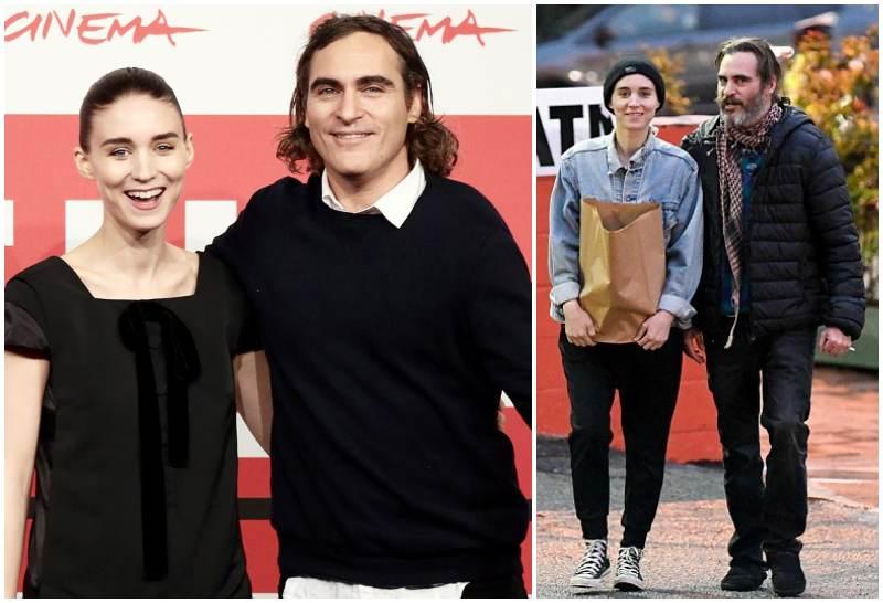 Joaquin Phoenix's long-term girlfriend Rooney Mara
