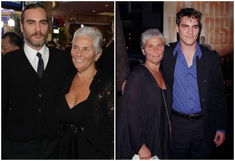 Joaquin Phoenix's family - mother Arlyn Sharon Phoenix