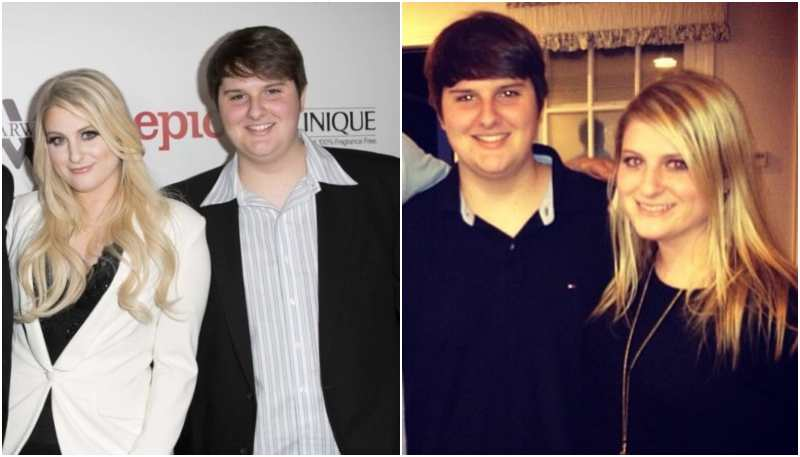 Meghan Trainor's siblings - brother Justin Trainor