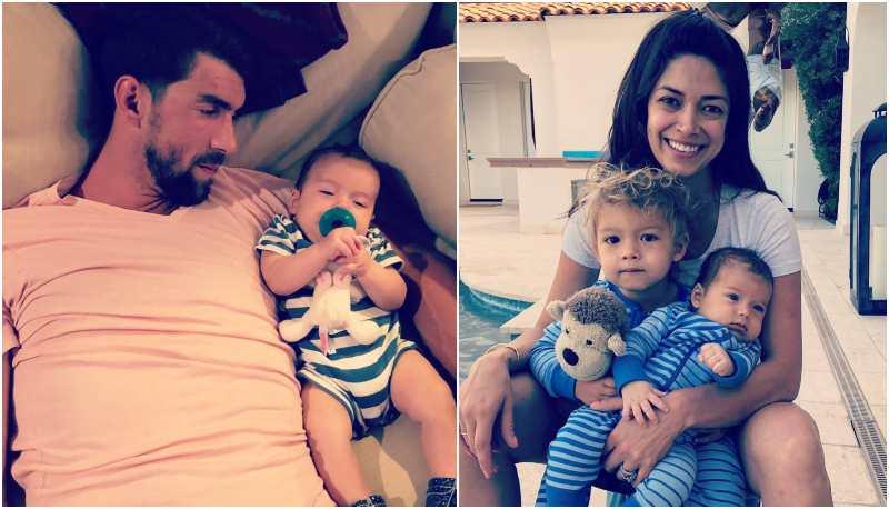 Michael Phelps' children - son Beckett Richard Phelps