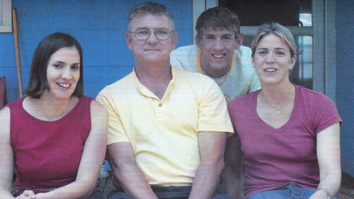 Michael Phelps' family - father and sisters