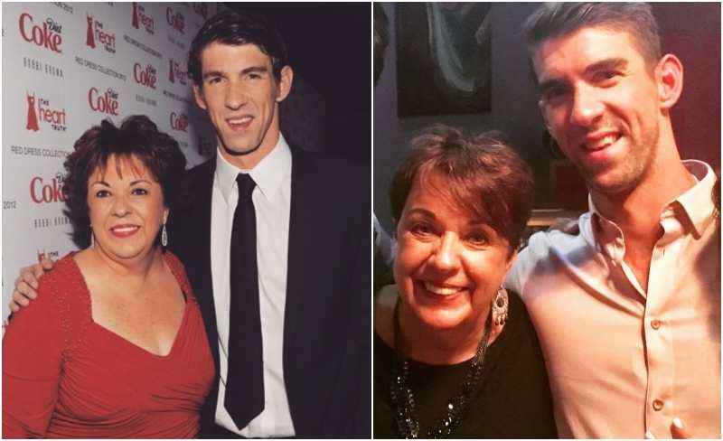Michael Phelps' family - mother Deborah Sue Phelps