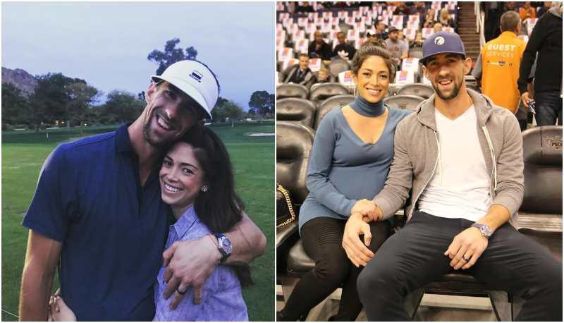Michael Phelps' family - wife Nicole Michele Phelps