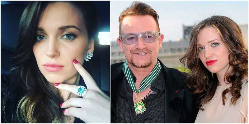 Bono's children - daughter Jordan Hewson