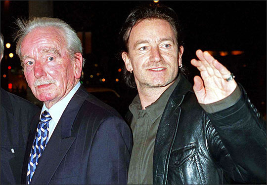 Bono's family - father Brendan Robert Hewson