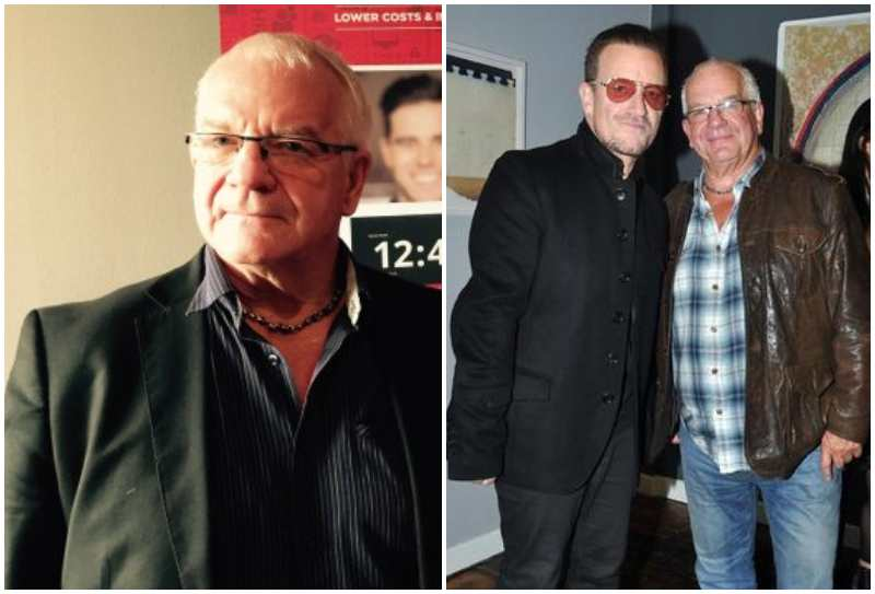 Bono's siblings - brother Norman Hewson