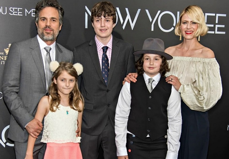 Mark Ruffalo's family