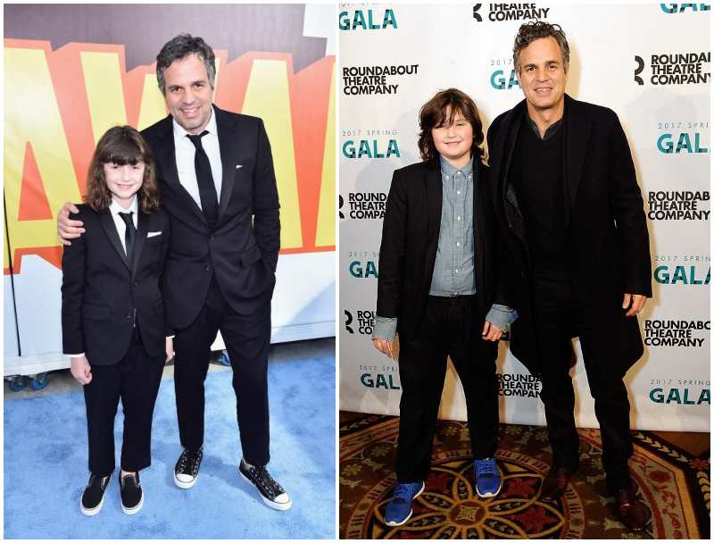Mark Ruffalo's children - daughter Bella Noche Ruffalo