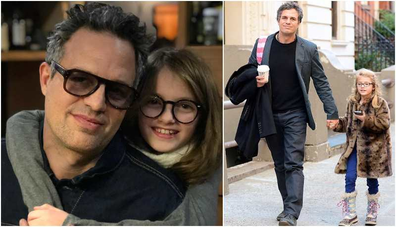 Mark Ruffalo's children - daughter Odette Ruffalo