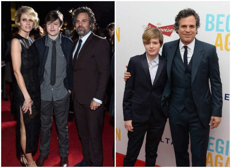 Mark Ruffalo's children - son Keen Ruffalo
