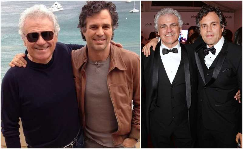 Mark Ruffalo's family - father Frank Ruffalo