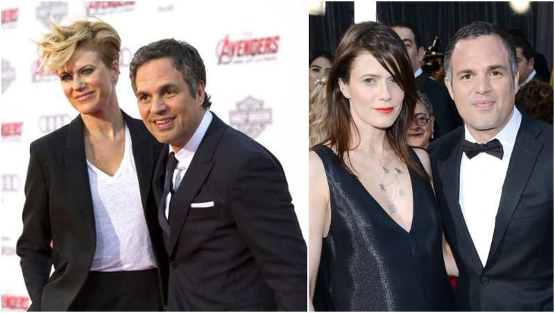 Mark Ruffalo's family - wife Sunrise Coigney
