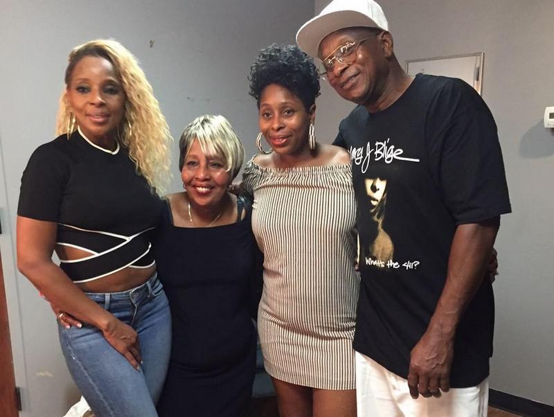 Mary J. Blige's family - mother, sister and father