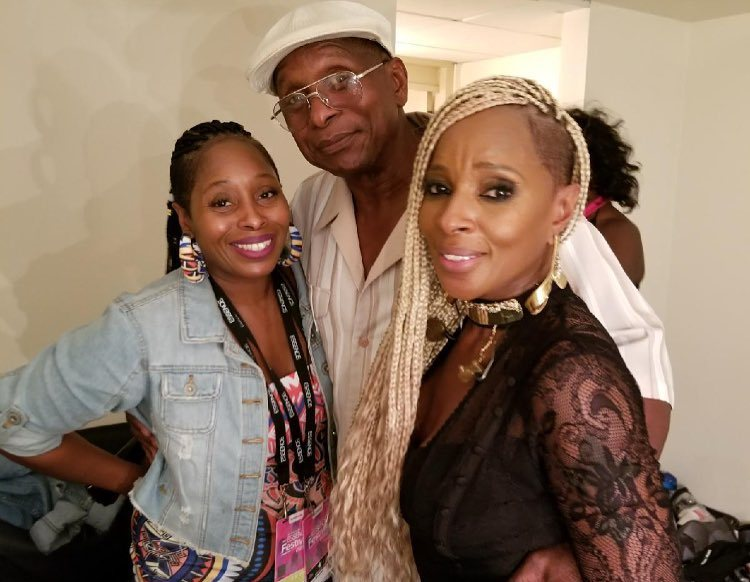 Mary J. Blige's family - father Thomas Blige