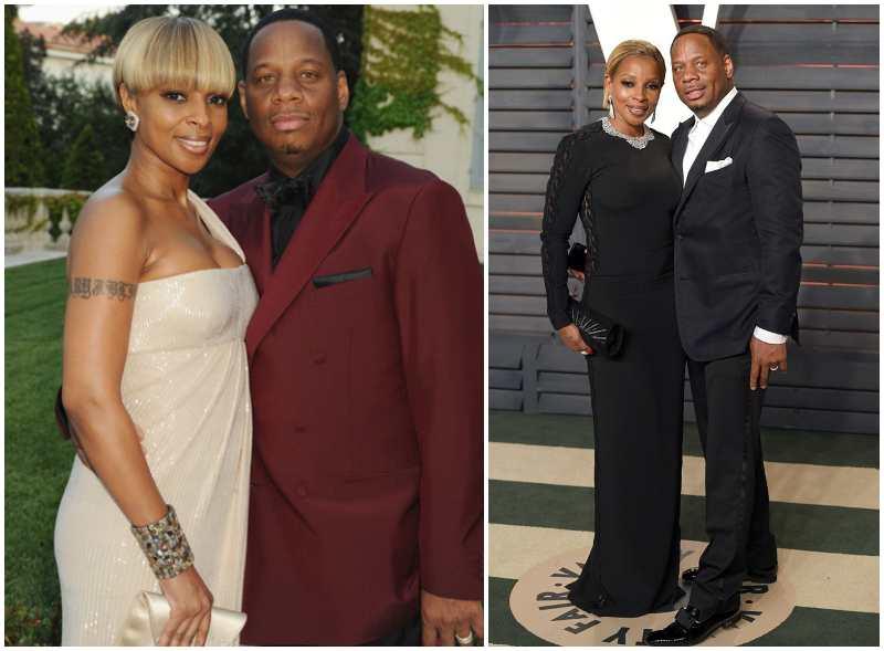 "Mary J. Blige's family - ex-husband Martin ""Kendu"" Isaac"