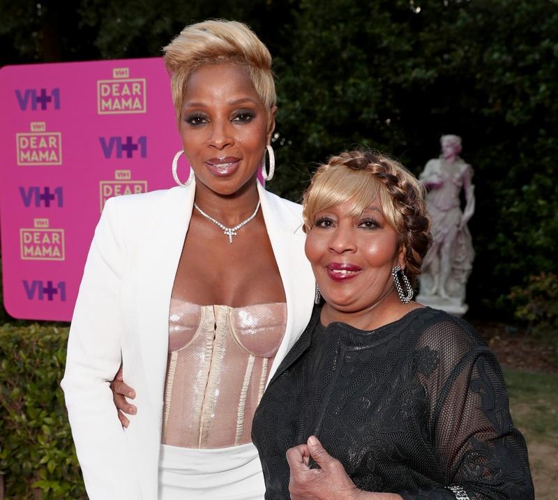 Mary J. Blige's family - mother Cora Blige