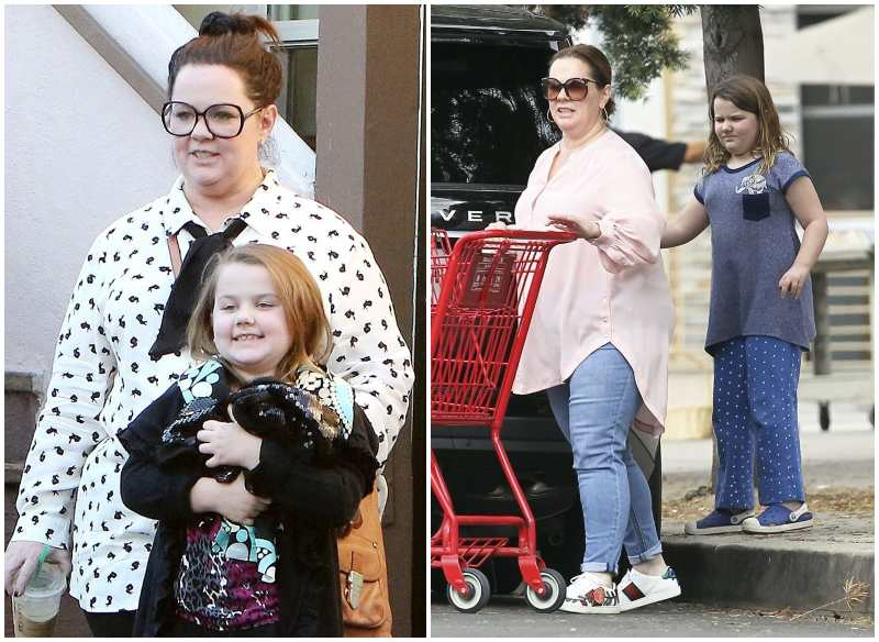 Melissa McCarthy's children - daughter Vivian Falcone