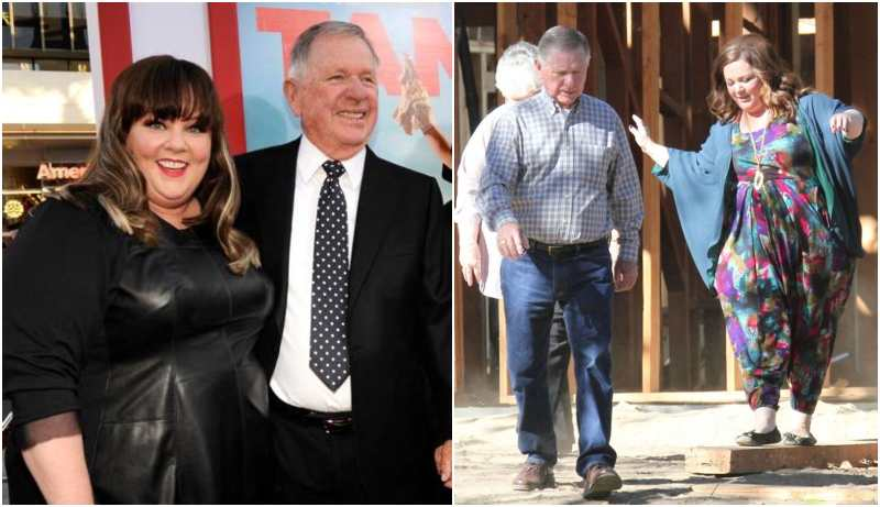 Melissa McCarthy's family - father Michael McCarthy
