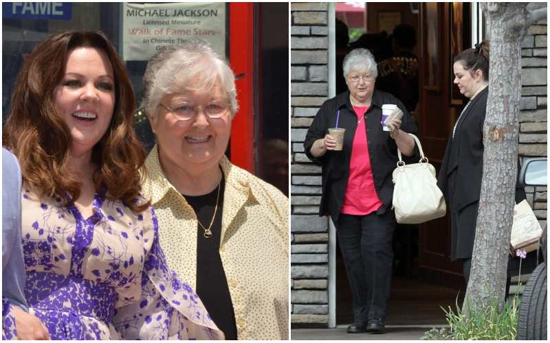 Melissa McCarthy's family - mother Sandra McCarthy