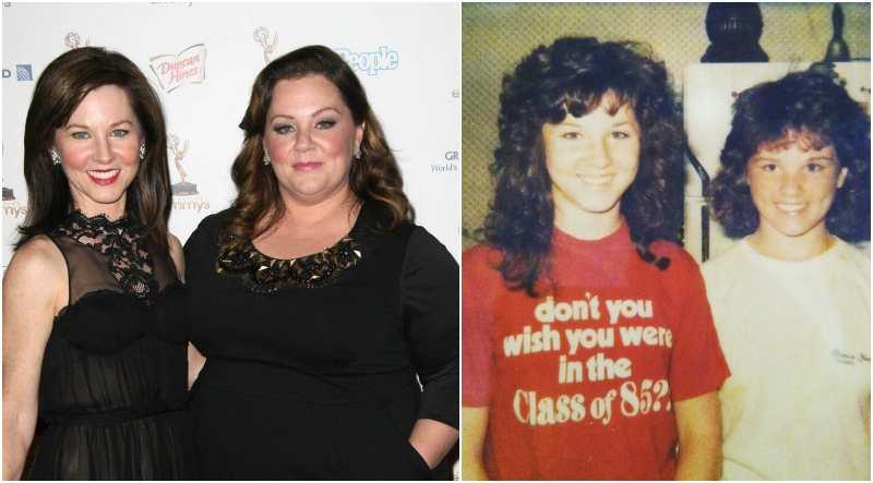 Melissa McCarthy's siblings - sister Margie McCarthy